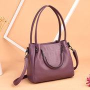 Elegant Women Pure Color Shoulde Bag Handbag Crossbody Bags