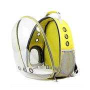 3 Colors Breathable Transparent Pet Dog Cat Travel Backpack Carrier Transparent Space Capsule