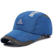Men Women Ultra-thin Breathable Quick-drying Baseball Cap Outdoor Casual Carved Hat