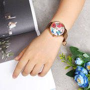 LVPAI Elegant Women's Watch Retro Flower Butterfly Watch Gift