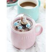 جميل لطيف مايكرو المشهد السيراميك كأس الإبداعية هدية عيد السيراميك البن القدح