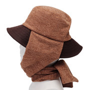 Sciarpa calda unisex lana pescatore cappello outdoor casual antivento Orecchio Protaction Collo Warmer Dome cappello