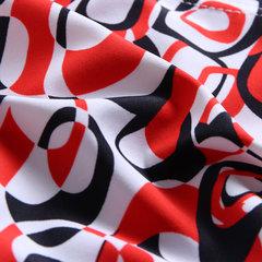 Maillots de bain imprimés irréguliers pour hommes, double couche, cordon de serrage à séchage rapide, taille extensible à la taille