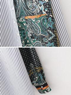 قميص مقلم كاجوال مقلم للنساء