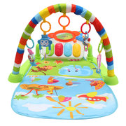 3 in 1 Newborn Baby Multifunction Play Mat Music Piano Fitness Gym Activity Mat