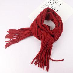 Warm Wolle Soft Kinder Quaste Design Winter Schal für 1-12 Jahre