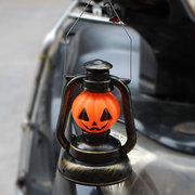 هالوين دي الملونة الجمجمة اليقطين الصمام فانوس ضوء مصباح مخيف شنقا هوسدور