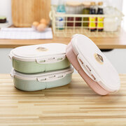 Nordic Style Simple Student Lunch Box Preservation Moisture Proof Food Storage Box