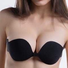 Mermaid Front Closure Invisible Strapless Gather Silicone Butterfly Stick On Bras