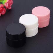 5g White Gel Nail Bouteilles vides Plastic Nails Art Container Maquillage Pot Tool 3 Couleurs