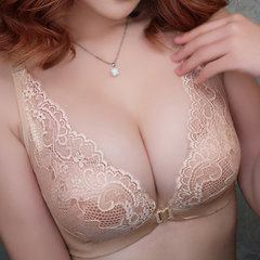 Sexy Front Closure Deep Plunge Lace Seamfree Bras