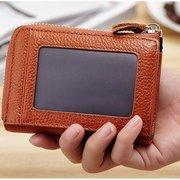 Borse da uomo portamonete con portamonete con cerniera per portafoglio corto da donna