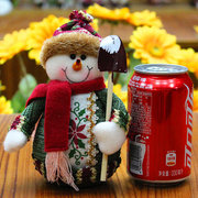 Christmas Decorations Artificial Reindeer Doll Flannel Christmas Gifts Toys  for Home Decor