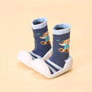 Toddler Bear Prints Indoor Anti Skid Socks baby Shoes