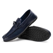 Men British Style Bow Decoration Laze Shoes Flat Casual Loafers