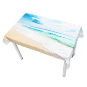 3D Sky Beach 5 Tablecloth Table Cover Cloth Birthday Party Event Decorations