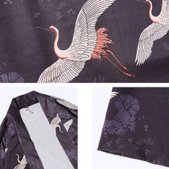 Casual Loose 3D Animal Style Chinese Open Clothing Camisas finas para homens