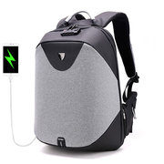 Men Antitheft Backpack 5in Laptop Business Backpack with USB Charging Port