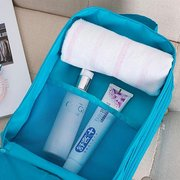 Mulheres Nylon Travel Portable Waterproof Shoes Tote Pouch Multifuncional Cosmetic Storage Bags