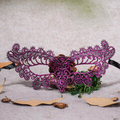 Women Halloween Hollow Lacquered Lace Sexy Eye Mask Masquerade Party Masks
