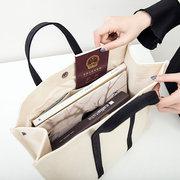 Canvas Casual Aufbewahrungstasche Reisetasche Handtasche Schulter Taschen
