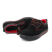 Men Steel Toe Cap Anti Smashing Puncture Proof Safety Shoes