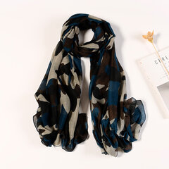 UACY 180cm*90cm Lightweight Camouflaged  Print Shawl Scarf For Spring Summer Beach Shawl