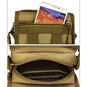 Men Outdoor Riding 6 inches Phone Shoulder Bag Waist Bag Crossbody Bag