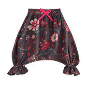 Floral Harem Style Toddlers Girls Casual Summer Shorts Pants For 1Y-7Y