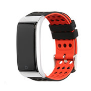 ECG EKG Blood Pressure Monitor Fitness Tracker 3D Color UI IP67 Long Standby Smart Watch