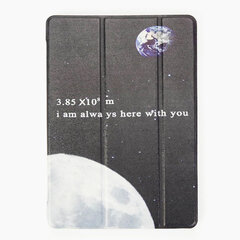 PC Solft Cute Caso Ipad con I'will Alway Here With You