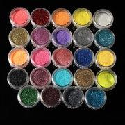 Professional Acrylic Powder Glitter UV Gel Primer Nail Art Tips Brush Block File Manicure Kits