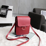 Vertical Shoulder Bag Small Square Bag 6 Inches Phone Bag For Women