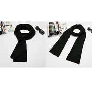 190cm Solid Brushed Scarf For Men Soft Wraps Scarves Warm Shawls Korea Style