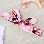 4Pcs Neugeborenes Baby Floral Bedruckte Kleidung Set Für 0-24M