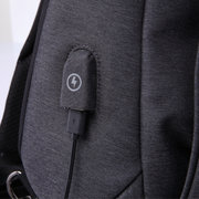 TANGCOOL USB Charging Port Chest Bags Casual Anti Theft Crossbody Bags