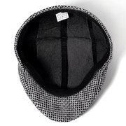 Мужская хлопковая беретная шапка зима теплая Винтаж Vogue Шапка На открытом воздухе Путешествия Гольф Вождение Шапка