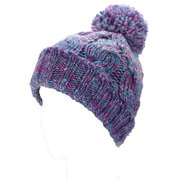 Lovely Winter Warm Women Knit Crochet Beanie Hat Ball Wool Cuff  Ski Cap