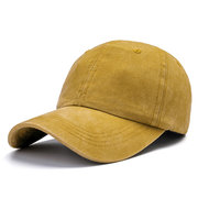 Mens Women Solid Washed Cotton Baseball Cap Funny Hat Sunshade Sport Summer Hats