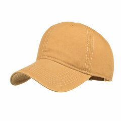 Men's Summer Adjustable Washed Cotton Cap Outdoor Sports Climbing Baseball Cap