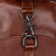 للجنسين جلد طبيعي حقيبة الصدر خمر متعددة الوظائف عارضة مجنون الحصان الجلود الظهر