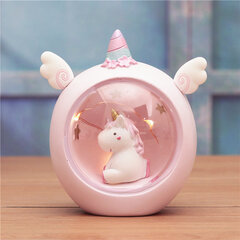 Unicorn Star Light Night Light Regalo de Navidad para niños Dormitorio Decoración Sweet Night Light