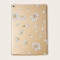 Transparent TPU Soft Ipad Case With Petal Pattern