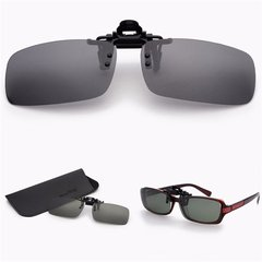 Night Vision Glasses Polarized Driving Fish Clip on Sunglasses For Metal Frame