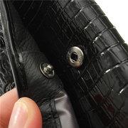 Borsa lunga elegante delle donne del portafoglio casuale del grano del coccodrillo 3D delle donne