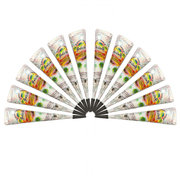 Natural White Henna Paste Cone Temporary Tattoo Body Art Tool