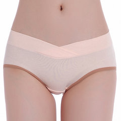 Comfy Cotton Seamless Low Rise Underwear U-shaped Breathable Panties For Women