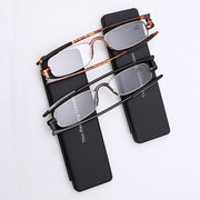 Men Women Rotatable High Definition Reading Glasses Outdoor Home Light Computer Presbyopic Glasses