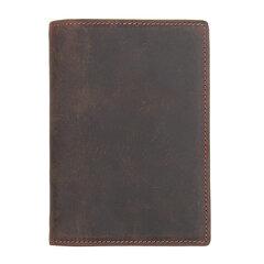 Titolare della carta del passaporto del passaporto della borsa del documento del cuoio genuino antinagnetico di RFID