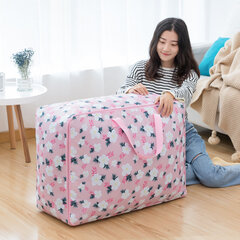 Large Capacity Oxford Fabric Quilts Clothes Storage Bag Luggage Bag Clothing Travel Moving Sorting